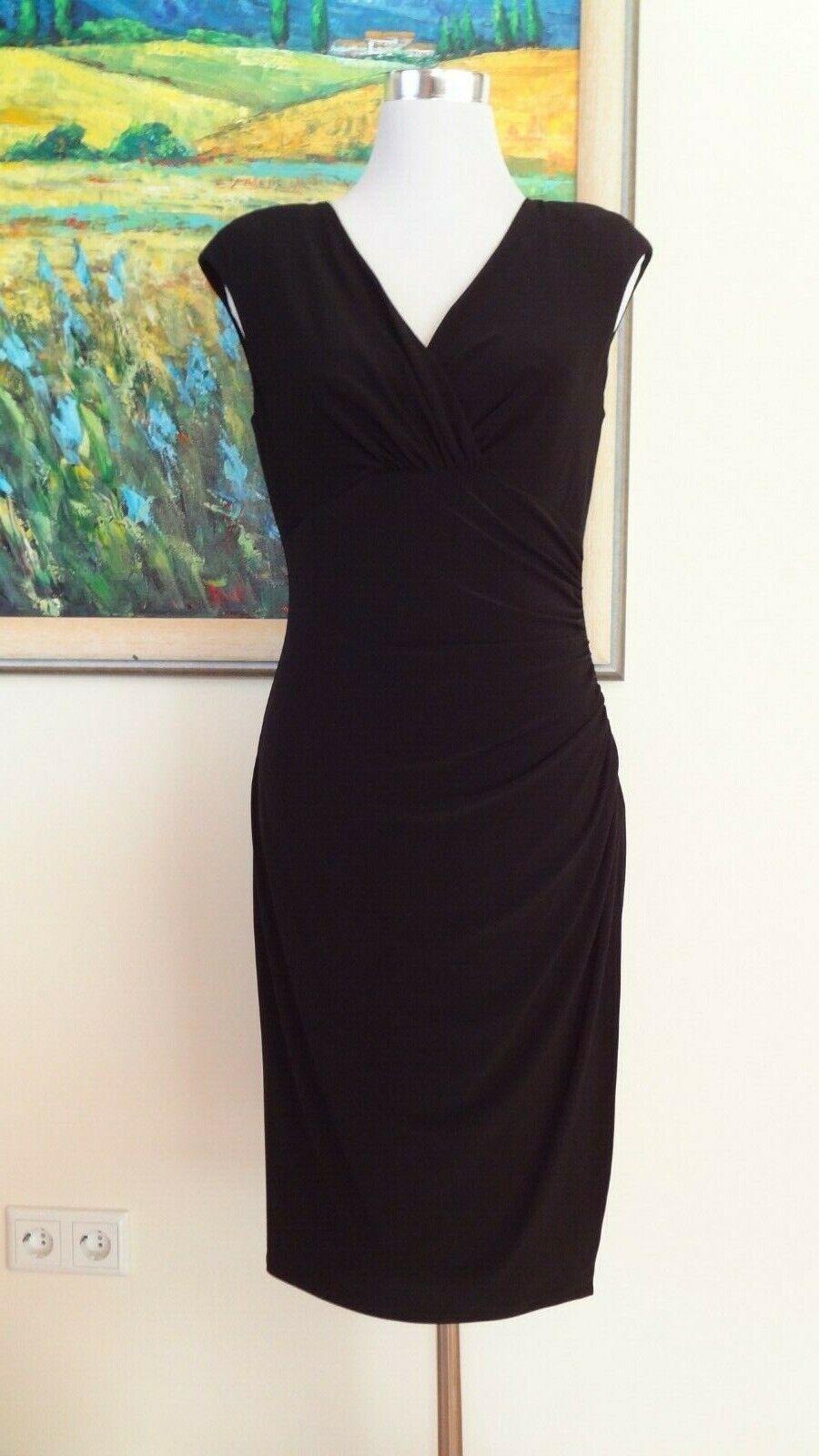 Kleid RALPH LAUREN Gr. 8 Dress schwarz Etuikleid Cocktailkleid