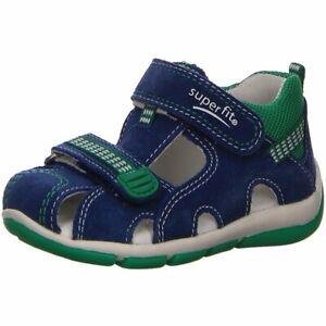 Blau Superfit Sandalen Freddy 00140 82 Lauflernschuhe Kinder 579673 cJl1TKuF3