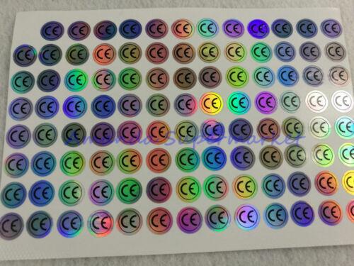 900 Hologram CE Certificated Label Sticker 10*10mm Waterproof Laser sticker