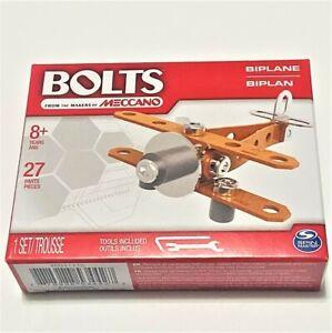 Bolts by Meccano Erector Model Sets Plane Spin Master Educational Kits