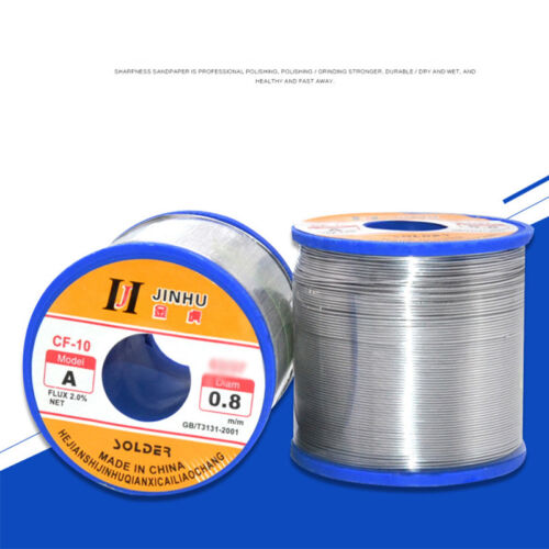 Sliver 500g 60//40 Tin lead Wire Rosin Core Solder 2/% Flux Tin Lead Soldering