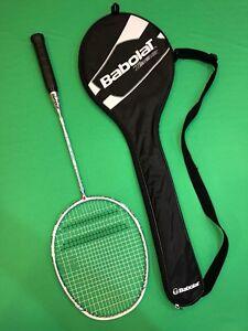 New-Babolat-B-Lite-Team-Badminton-Racquet-20-21-String-Bed-83g-Flexible-285mm
