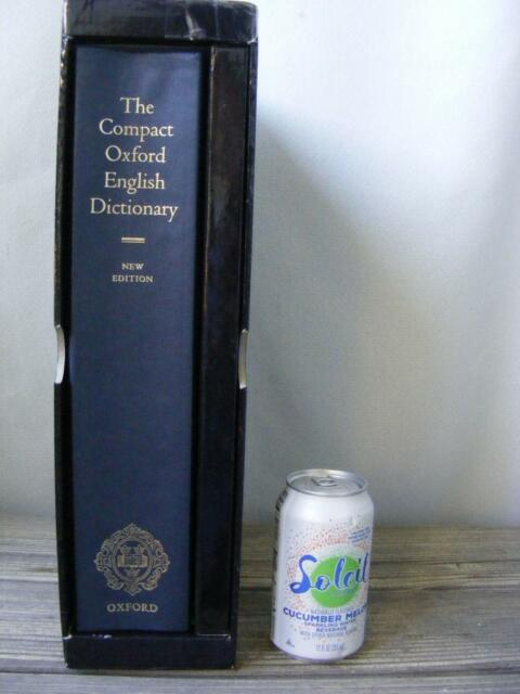 Compact Oxford English Dictionary Micrographic 1998 Revised One Volume  Hardcover