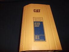 CAT CATERPILLAR AP-655D BG-655D ASPHALT PAVER SERVICE SHOP REPAIR BOOK MANUAL