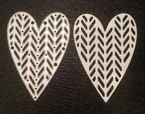 Sizzix-Die-Cutter-DECORATIVE-HEART-Thinlits-fits-Big-Shot-Cuttlebug