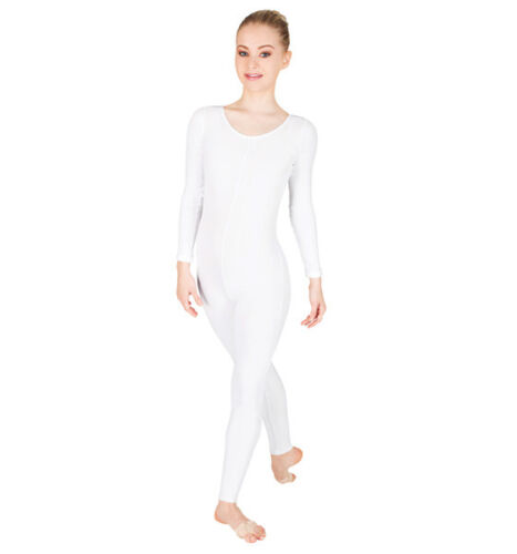 NWT Body Wrappers 217 Long Sleeve Adult Unitards Black Nude White