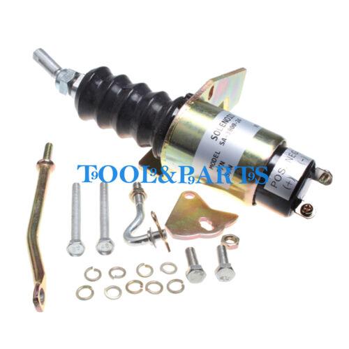 Fuel ShutOff Solenoid SA-3800-24 1751-24RU1B2S1 24V for Deutz Bosch RSV