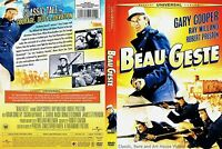 Beau Geste Dvd 2009 Gary Cooper, Ray Milland, Robert Preston (1939)