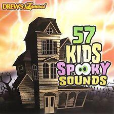 57 KIDS SPOOKY SOUNDS (Halloween Sound Effects) CD