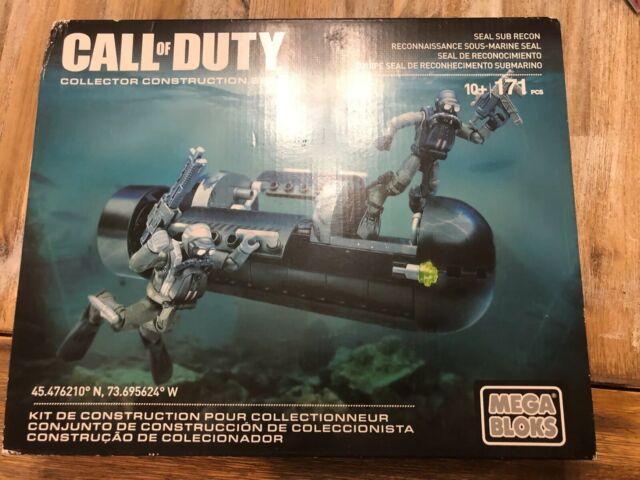 Mega Bloks Call of Duty -  SEAL Sub Recon CNG80