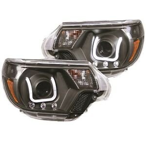Anzo-USA-111290-Projector-Headlight-Set-Fits-12-15-Tacoma