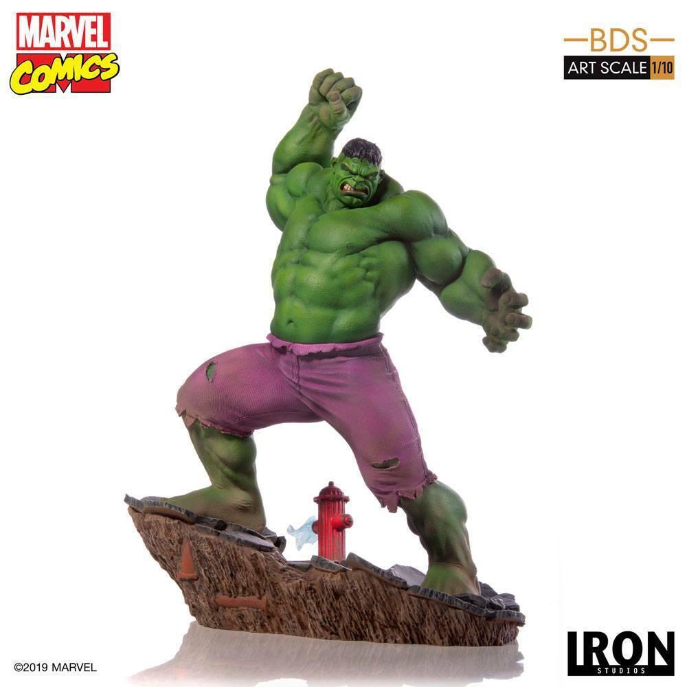 Iron Studios Marvel Comics BDS ART SCALA Statua 110 HULK 29 cm