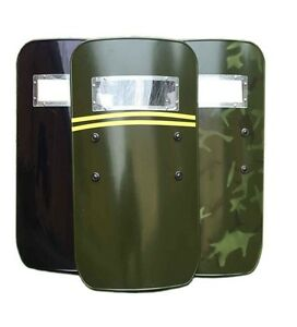 Military Tactical Hand-held Shield Anti-Riot Law Enforcement Police Security