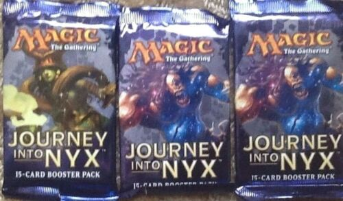 MTG JOURNEY TO NYX BOOSTER  PACK 5 COUNT LOT FREE SHIP