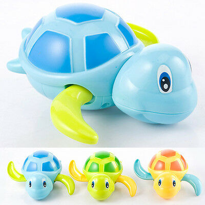 Cute Swimming Animal Turtle Pool Toys for Baby Children Kids Toddler Bath Time
