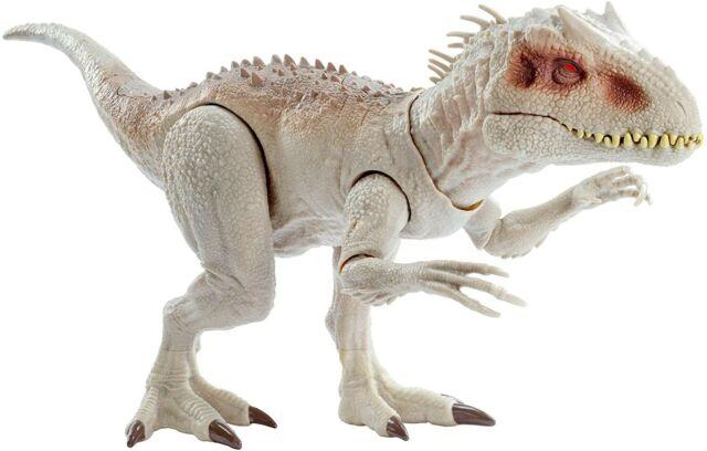 "Jurassic World Destroy 'N Devour Indominus Rex Dinosaur Toy Lights 23"" Long"