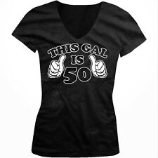 This Gal is 50 Celebration Party Birthday Over the Hill Boy Beater Tank Top