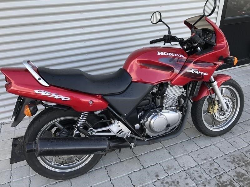 Honda, CB 500 S, 499