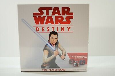 Two-Player Game with cards and special Dice Star Wars Destiny