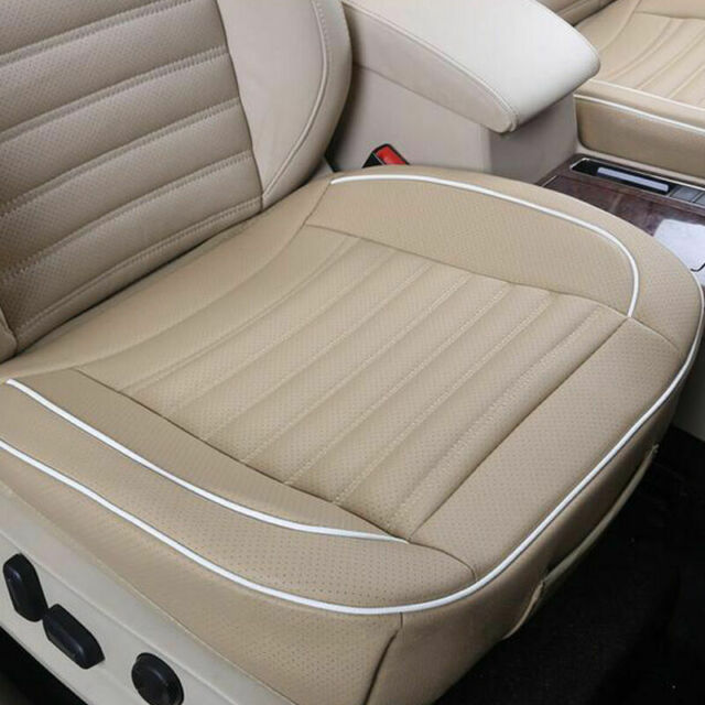 Car Front Seat Cover Full Surround Breathable Leather Chair Cushion Pad Mats