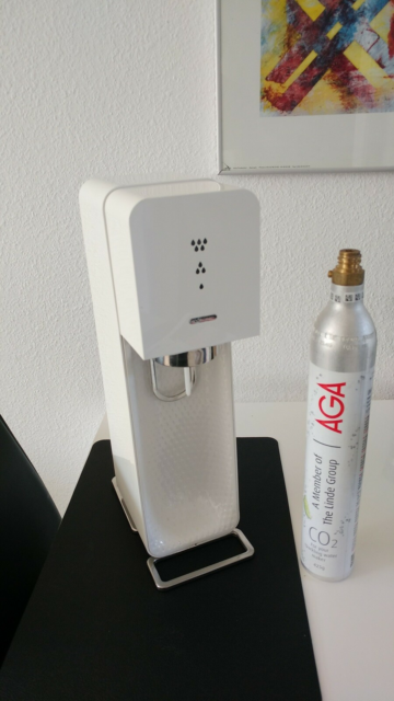 Sodavandmaskine, Sodastream, Mangle flaske