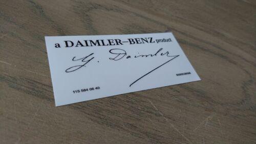 Mercedes benz sticker A Daimler benz product new