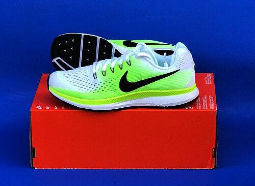 innovative design 9335f efdb2 Nike Zoom Pegasus 34 GS White Green Black Kids Running Shoes SNEAKERS 881953 -100 6.5 Y | eBay