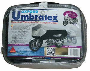 Oxford-Umbratex-Cover-Waterproof-Outdoor-Motorcycle-Cover-size-XL-XLarge-CV108