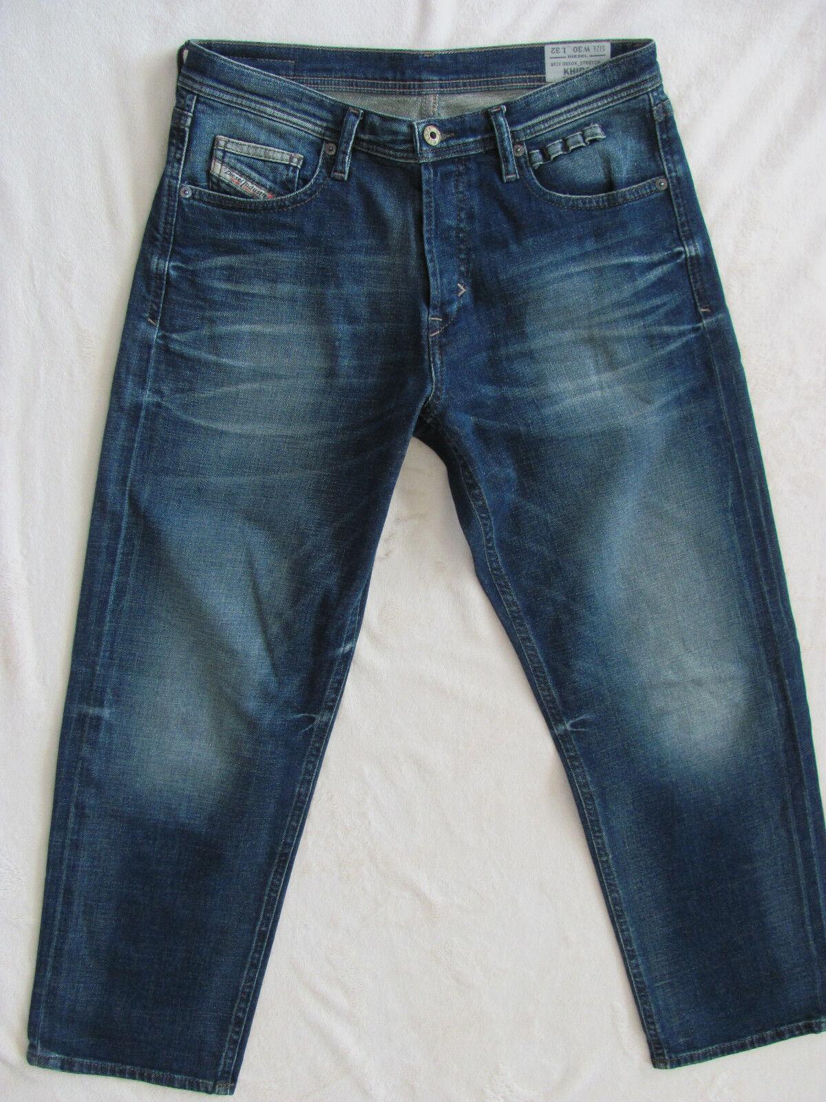 Men's Diesel Khiro Regular Straight Jeans Wash 0850K -Size 30 L28 NWT