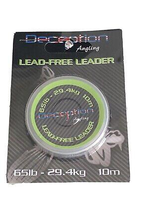 Carp Shock Leader Carp Lead Free Snag Leader. 10M Carp Fishing Leader 50lb