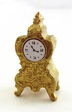 Maison De Poupées 1:12 Échelle Miniature Accessoire De Cheminée Ornement Doré