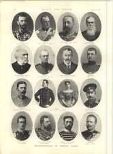 1897 Representatives Of Foreign Courts Prince Hermann Archduke Ferdinand