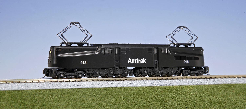 KATO 1372022 N Amtrak  918 GG1 Electric Locomotive 137-2022 - NEW