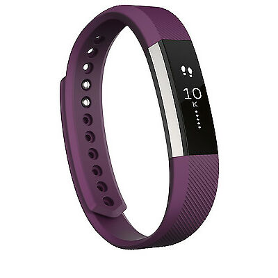 NEW Fitbit Alta Fitness Wristband Plum - Large