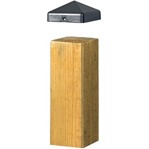 Pfostenkappe Pfostenabdeckung Zaunkappe für Holzpfosten 7x7cm  10 Stk.