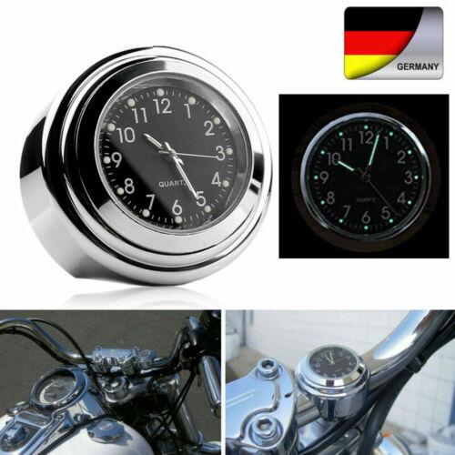 "7//8/"" Moto Bicicletta Impermeabile Orologio Manubrio Mount orologi punitor Ruhr UNIVERSALE"