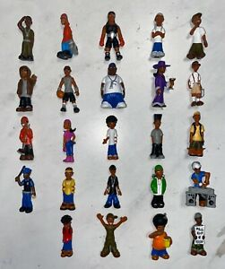 COMPLETE SET of 12 MEXICAN WRESTLERS Series 1 MICRO ICONS 1//32 Scale Figures