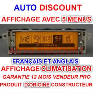 Peugeot-207-307-407-308-amp-CITROEN-C2-C3-C4-C5-multifonction-C8-affichage