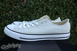 CONVERSE CHUCK TAYLOR ALL STAR OX SZ 10.5 LIGHT SURPLUS WHITE ... 29a2c00ed