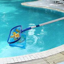 CERTIKIN Graphite Deep Leaf Rake For Swimming Pools GREY CCMG118