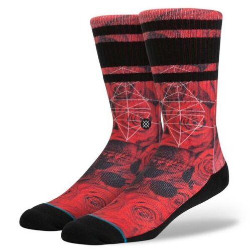 Stance Prowler Socks in Red