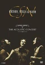 "STILLS & NASH CROSBY ""THE ACOUSTIC CONCERT"" DVD NEU"