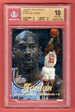 MICHAEL JORDAN 1997-98 FLAIR SHOWCASE ROW 1 SP BGS 10 PRISTINE POP 1