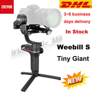 Zhiyun Weebill S 3-Axis Gimbal Handheld Stabilizer For DSLR & Mirrorless Cameras