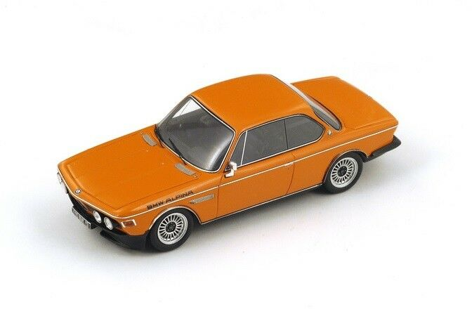 BMW Alpina CSL (E9)  Orange  (Spark 1 43   S2811)