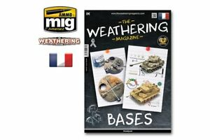 AMMO OF MIG A.MIG-4271 The Weathering Magazine 22 Bases French