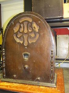 Vintage-1930-s-Gloritone-26-Tube-Cathedral-Radio