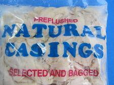 Real hog pork sausage casings for 100+ Lbs of fresh Links Kielbasa Bratwurst et