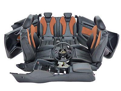 Audi A3 8V Cabrio S-Line Lederausstattung Individual Cognac Sport Sitze Lenkrad