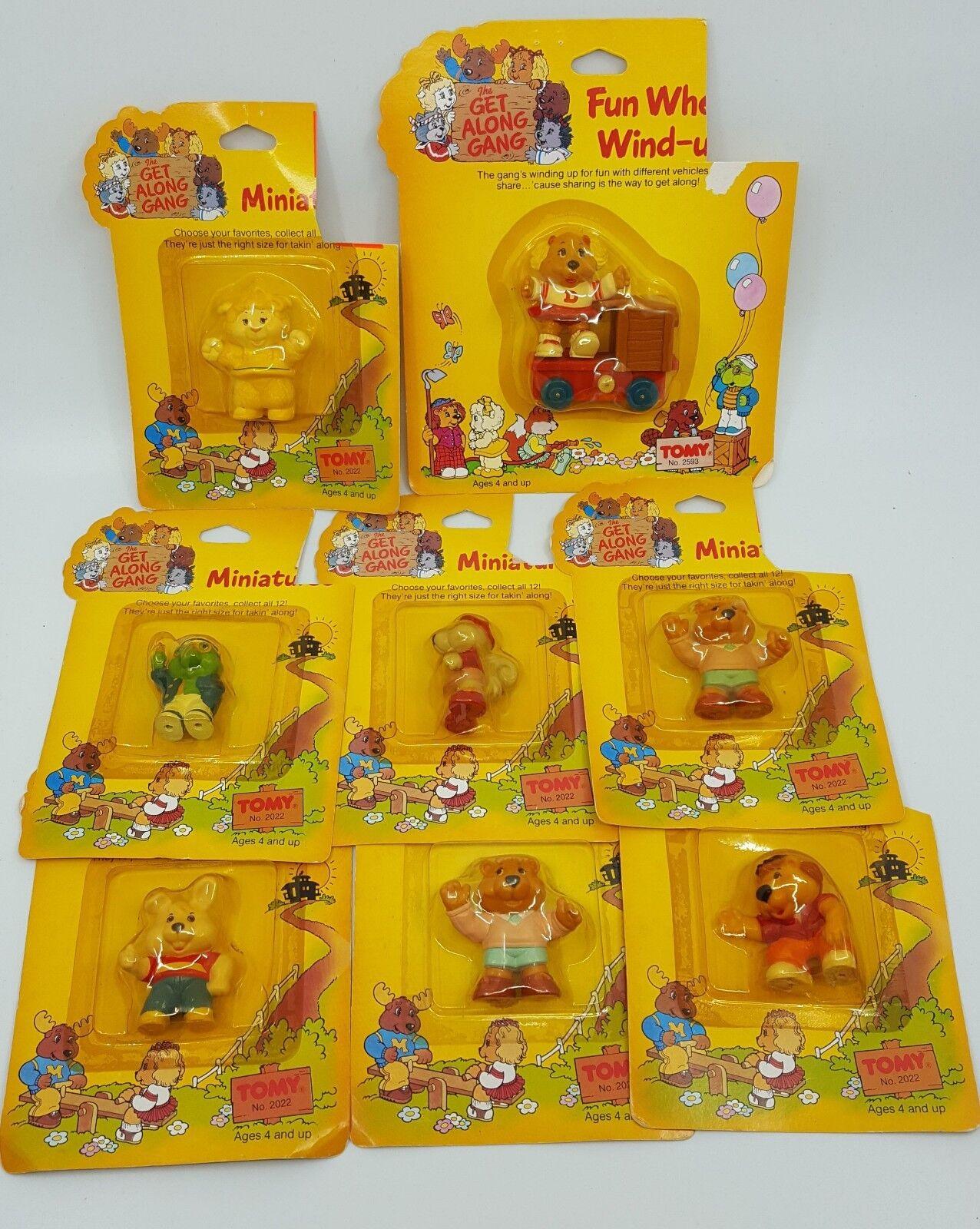 8 x. Pandillas, juguetes, turbinas, 1984. 1984. 1984. 7be